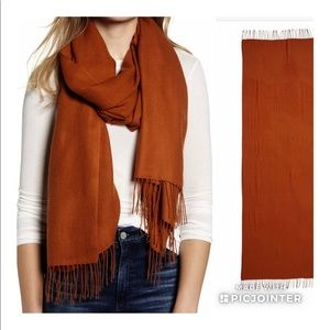 NEW Nordstrom Wool Cashmere Scarf 🧣